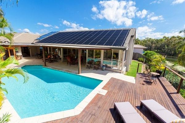 climatización solar piscina
